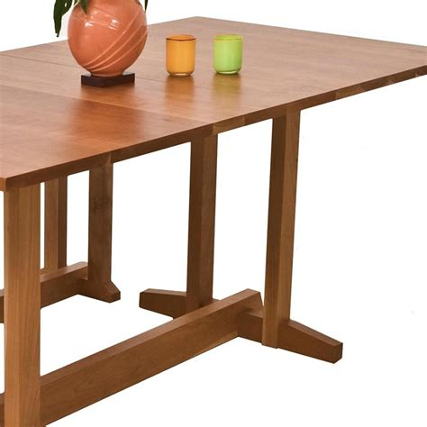 Handmade Furniture Boston - boston trestle dining table handmade solid wood