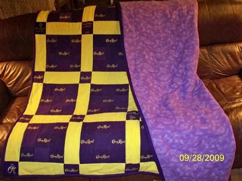How To Make A Crown Royal Bag Quilt by Crown Royal Quilts Page 2