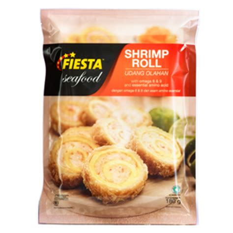 Shrimp Roll Food Nugget Sosis Enak Murah Promo Olahan Daging Udang Ok dan ch supplier frozen food