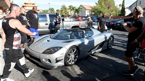 mayweather cars floyd mayweather pulls up to work in 4 8 million car cnn