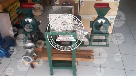 Parut Kelapa Bensin Lokal mesin disk mill 4 in 1 termurah di madiun jawa timur