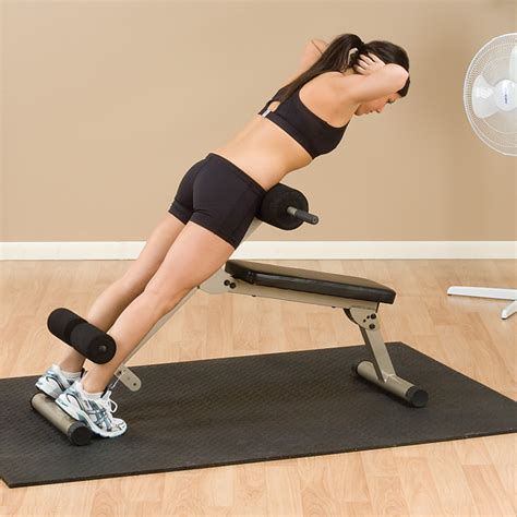 body solid hyperextension bench bfhyp10 best fitness ab board hyperextension body