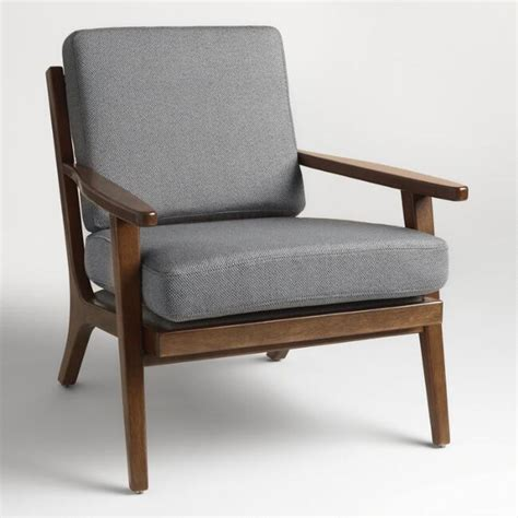 World Market Lounge Chair by Slate Gray Xander Armchair World Market