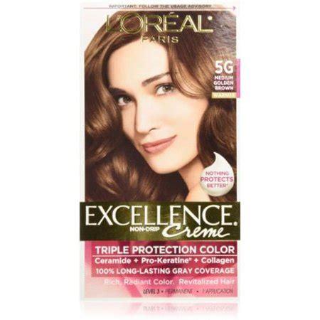 l oreal excellence creme medium brown 5 cvs l oreal excellence creme haircolor medium golden brown 5g 1 ea pack of 4 walmart