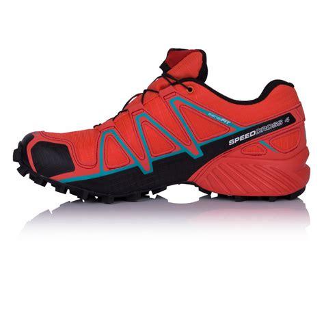 Salomon For 4 salomon speedcross 4 tex s trail running shoes