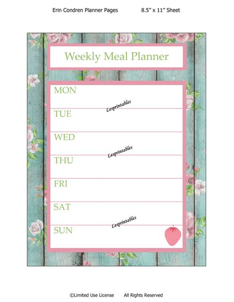 printables for erin condren life planner life planner deals on 1001 blocks