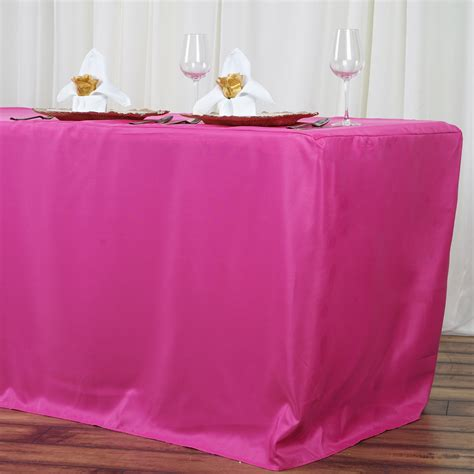 banquet table cloths 8 fitted polyester banquet tablecloth wedding table