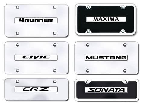 Vanity Plate Names by Name Badge Vanity License Plates