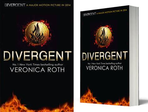 the divergent new divergent book icon cover design