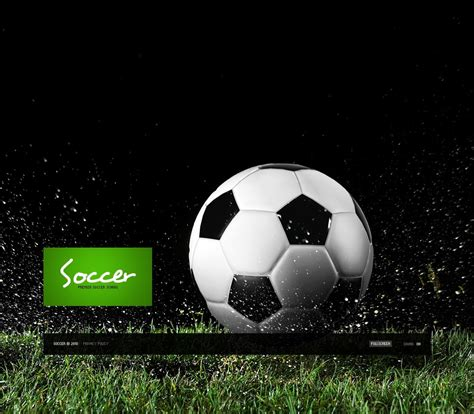 templates photoshop soccer soccer flash template 28711