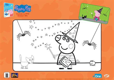 sea pig coloring page peppa pig halloween activities