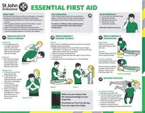 get a free aid guide st ambulance