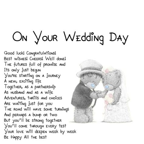Wedding Wishes Poem by 25 Sweet Wedding Poems