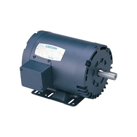 reversible electric motor leeson reversible electric motor 1 1 2 hp 1800 rpm