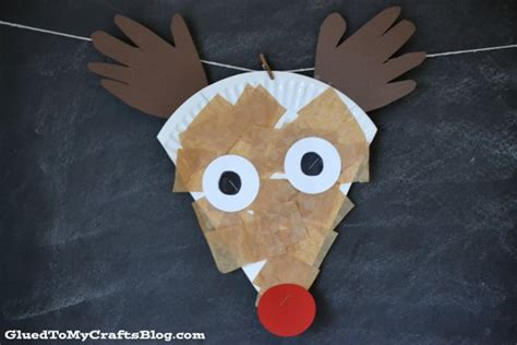 Reindeer Paper Crafts - rudolph reindeer activities fantastic learning