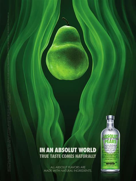Absolut Pears Decor by Absolut Vodka Pear
