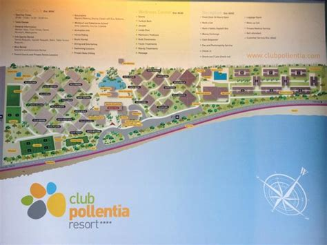 club resort map map of resort picture of pollentia club resort alcudia