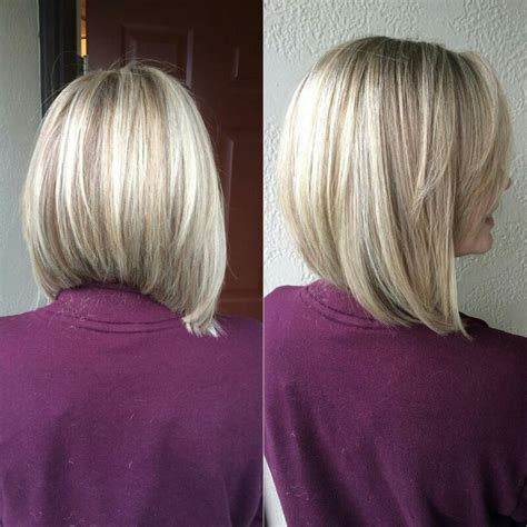 shoulder length hair with layers at bottom best 25 graduated bob medium ideas on pinterest long