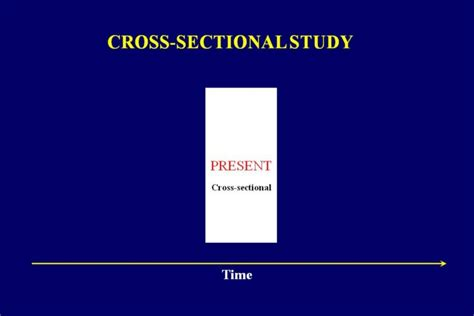 cross sectional t test first let us look at the cross sectional study cross