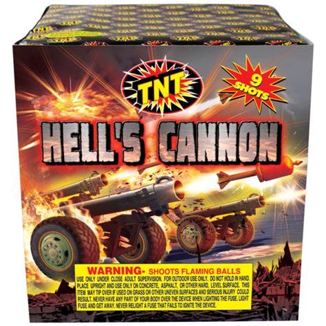 fireworks tnt fireworks hells cannon