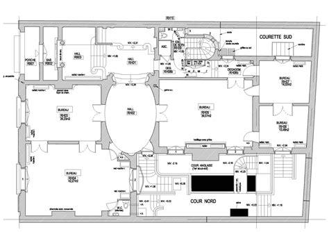 Le Petit Trianon Floor Plans by H 244 Tel Particulier Situ 233 224 Paris 16 232 Me Atelier Meinecke