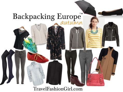 what to pack for europe backpacking through europe in autumn