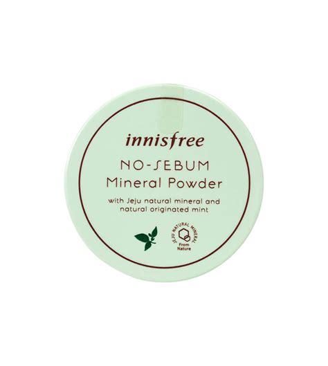 Innisfree No Sebum Mineral Powder 5gr Berkualitas phấn phủ bột kiềm dầu innisfree no sebum mineral powder 5gr