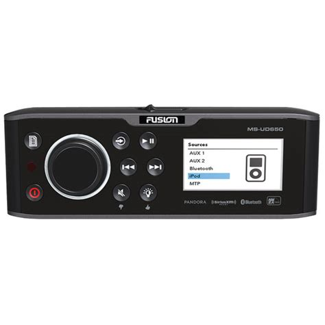 boat stereo west marine fusion ms ud650 uni dock marine stereo west marine