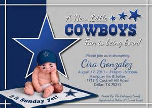 Dallas Cowboys Baby Shower Invitations by Personalized Dallas Cowboy Baby Shower Invitations Ebay