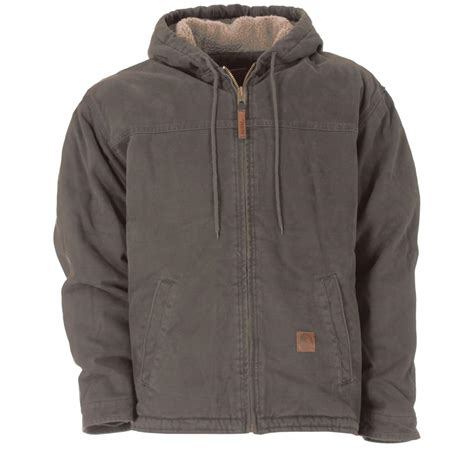 s jackets s berne sanded hooded work jacket 221580 insulated