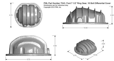 weather pattern exles pml ford 7 1 2 inch rear differential covers