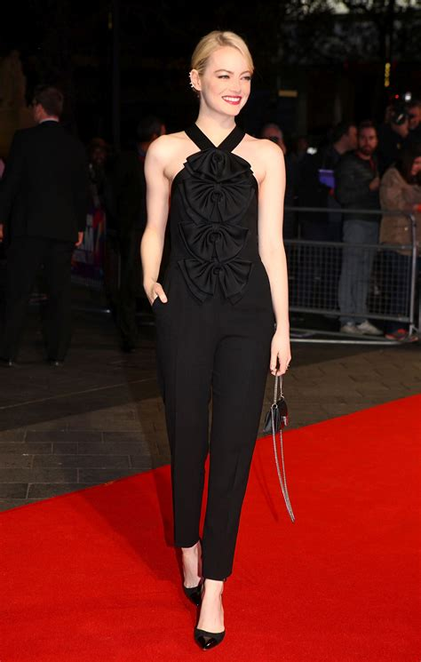 emma stone givenchy emma stone in givenchy 61st bfi london film festival the