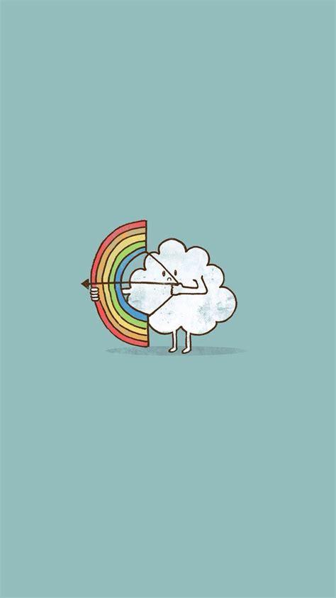 wallpaper iphone 5 arrow cute cloud rainbow bow arrow iphone 6 wallpaper hd free