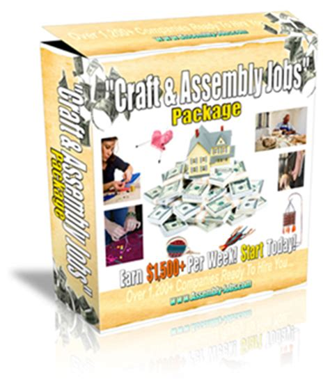 work at home assembly 1 200 companies for