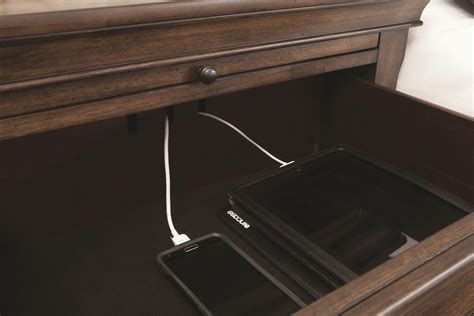 nightstand power station franco collection 200972 stand with self closing drawers power station pullout tray