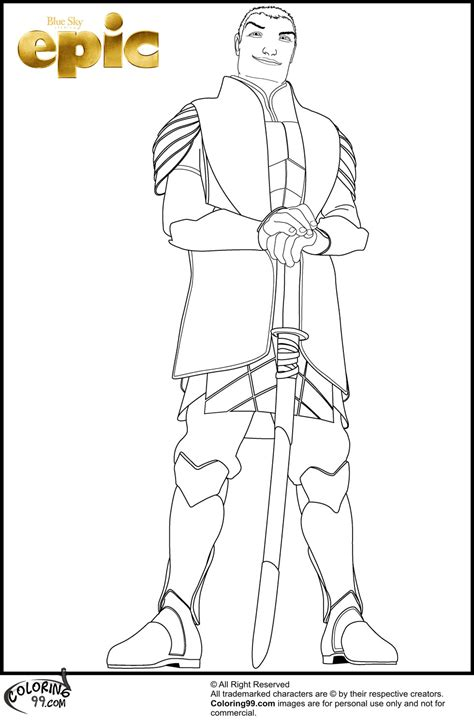 leaf man coloring pages the gallery for gt epic the movie leaf men