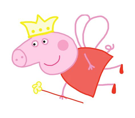 peppa pig fairy coloring pages free coloring pages of peppa pig fairy