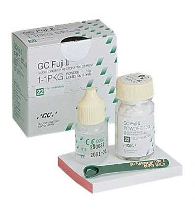 Cement Spatle Plastik Dental By Gc glass ionomer cement fuji 2 92trade