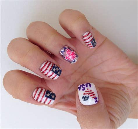 nails design usa i love the usa nail art style nails magazine