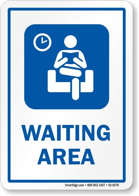 sings in hospital waiting room waiting area hospital sign hospital room symbol sku s2 0278