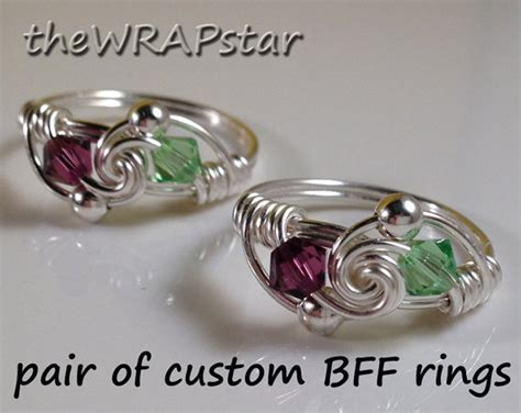items similar to friendship ring gift for best friend