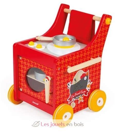 cuisine janod bois chariot de cuisine the cocotte janod j06544