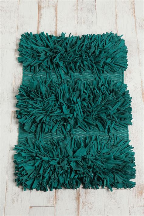 shag bathroom rug shag striped rug bath pinterest
