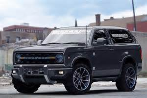 let s a new ford bronco really looks this