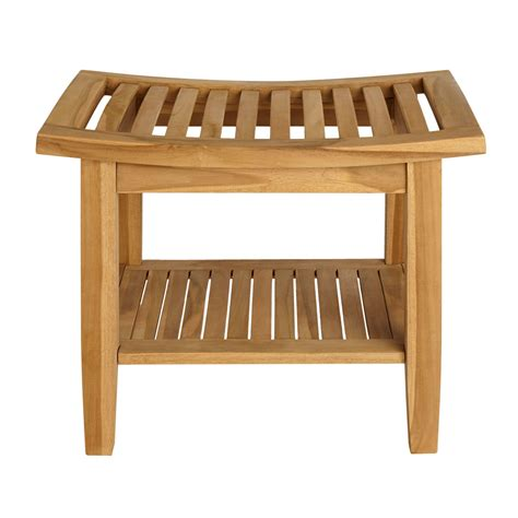 teak bench seat how to clean teak shower chair thecarpets co