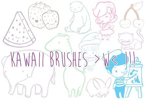 doodle brushes kawaii doodle brushes