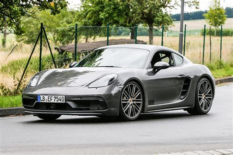 porsche cayman gts porsche cayman gts spotted in stages of testing