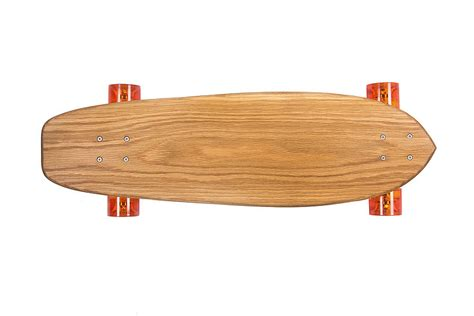 Handmade Skateboard - personalised handmade oak 70 s skateboard by nudie boards