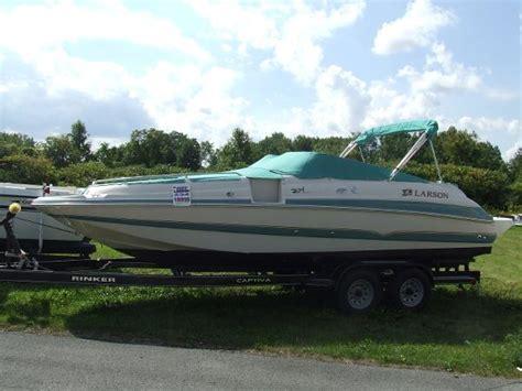 larson boats escape 234 deck boat larson boats for sale boats