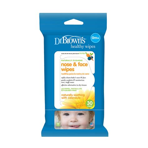 Dr Browns Nose Wipes 30 Wipestissue Bayibaby Wipes dr brown s baby nose wipes dr brown s baby
